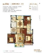 碧桂园珑悦3室2厅2卫0平方米户型图