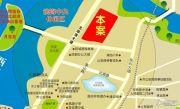 中冶兴港华府交通图