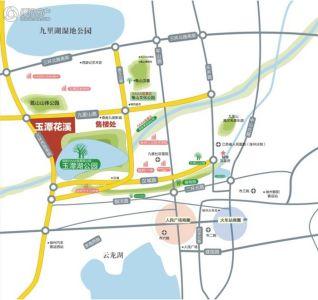 潭街道地图