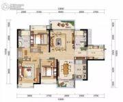 万科・红树东岸3室2厅2卫121平方米户型图