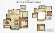 金浦御龙湾4室2厅2卫140平方米户型图