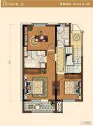 中冶沁海云墅3室0厅2卫149平方米户型图
