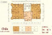 嘉泰华府3室2厅2卫75--170平方米户型图