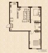 益和国际城2室1厅1卫70平方米户型图