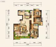 金龙星岛国际4室2厅2卫0平方米户型图