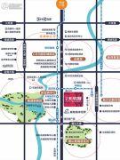 金地天府城交通图