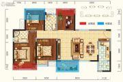 新城吾悦广场4室2厅2卫105平方米户型图