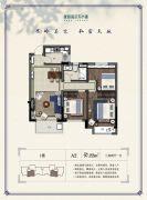 绿城高尔夫小镇・�m园3室2厅2卫97平方米户型图