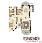 春晖园・随园3室2厅2卫208平方米户型图