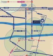 碧桂园琥珀湾交通图