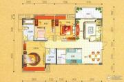 碧园・大城小院3室2厅2卫110--113平方米户型图