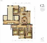 新希望・白麓城4室2厅3卫137平方米户型图