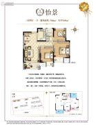 华宇锦绣花城3室2厅1卫86--95平方米户型图