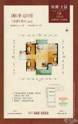 京源上景3室2厅2卫103--125平方米户型图