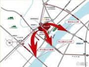 大华锦绣华城交通图
