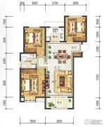 兰石豪布斯卡3室2厅2卫109平方米户型图