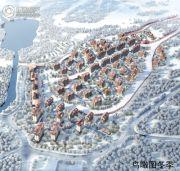 翠云山奥雪小镇规划图