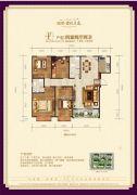 瑞璞君悦兰庭4室2厅2卫142--144平方米户型图