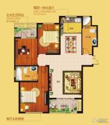 花为媒御品世家3室2厅2卫0平方米户型图