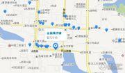 金福现代城交通图