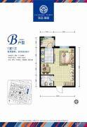 海富锦园1室0厅1卫0平方米户型图