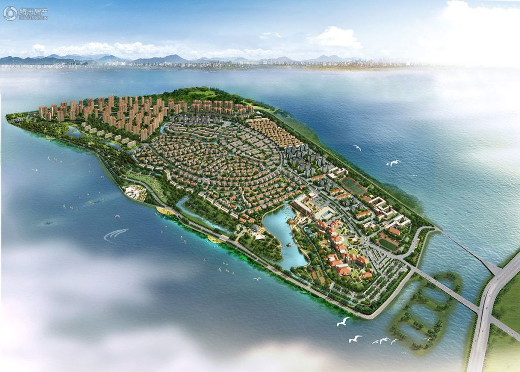 芜湖碧桂园鸟瞰图