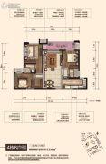 中海熙湾3室2厅2卫114平方米户型图