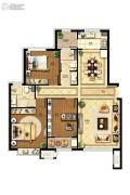 国赫天著3室2厅1卫115平方米户型图