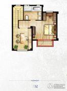 尚峰尚水4室3厅3卫180平方米户型图