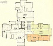 恒怡湾2室2厅2卫0平方米户型图