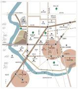 万科江上明月交通图