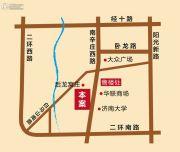 融利广场交通图