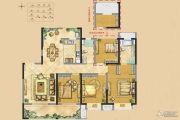 世茂新界4室2厅2卫138平方米户型图