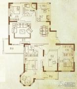 万泰麓溪公馆4室2厅2卫167平方米户型图