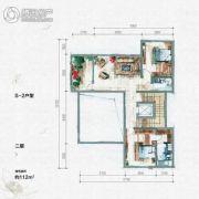 大汉汉园112平方米户型图