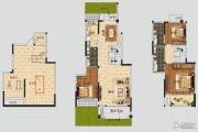 正商公主湖3室2厅2卫143平方米户型图