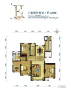 水韵豪庭4室2厅2卫179平方米户型图