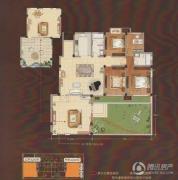 嘉城尚郡3室2厅2卫152平方米户型图