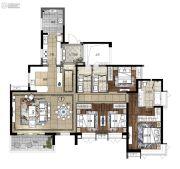 凯德山海连城4室2厅3卫188平方米户型图
