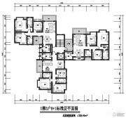 隆鑫花漾城328平方米户型图