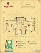 鞍山恒大绿洲0室0厅0卫133--166平方米户型图
