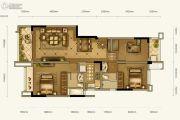 新希望锦悦楠庭3室2厅2卫99平方米户型图