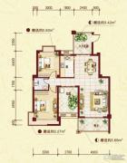 中南明珠2室2厅1卫98平方米户型图