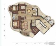 金昌香湖郡4室2厅2卫194平方米户型图