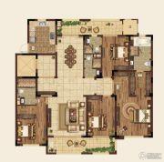 高科紫微堂4室2厅4卫198平方米户型图
