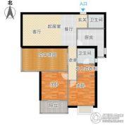 大华月光湖2室2厅1卫0平方米户型图