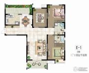 世茂香槟湖3室2厅2卫139平方米户型图