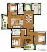 朗诗・新北绿郡4室2厅2卫150平方米户型图
