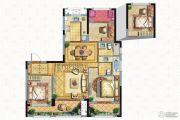 保亿风景御园3室2厅2卫105平方米户型图