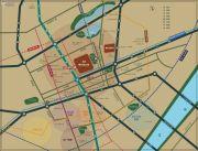 融创融公馆二期交通图